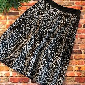 Banana Republic black skirt size 10